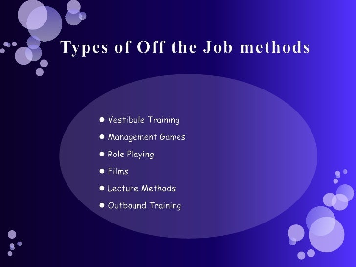 types and importance of on the job training Check the top 5 benefits of using elearning tools for staff training  another 25% regarded 'sense of accomplishment' critical to their job.
