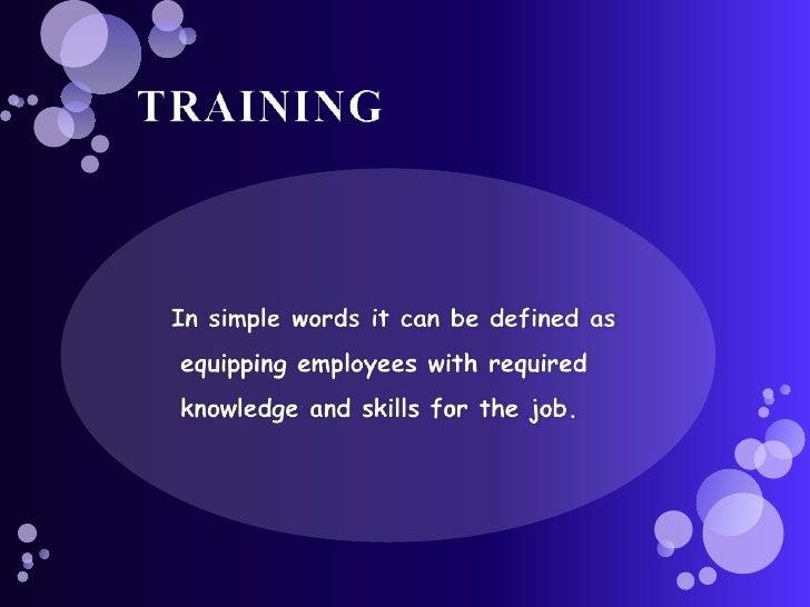 Methods Of Training Slide 2