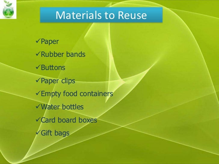 Methods Of Waste Disposal Reduce Reuse Recovery Recycle