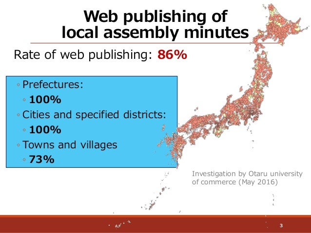 Demonstration of the Online Local Assembly Minutes Search System Slide 3