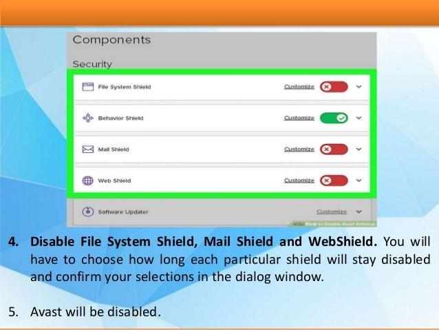 avast file system shield
