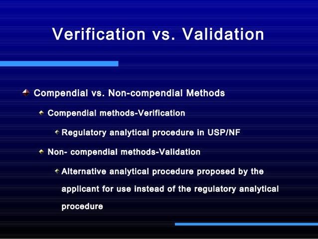 method validation for drug substances and drug product  remodified 20 u2026