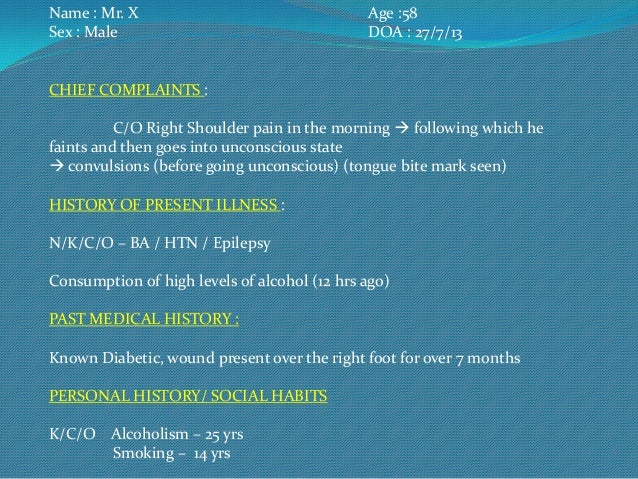 Methyl alchohol poisoning