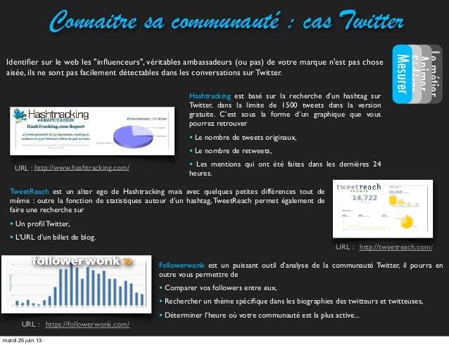 Followerwonk est un puissant outil d'analyse de la communauté Twitter, il pourra enoutre vous permettre de• Comparer vos f...