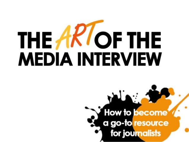 Why speak with the media?