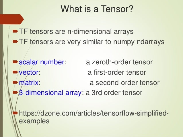 Introduction to Deep Learning, Keras, and TensorFlow