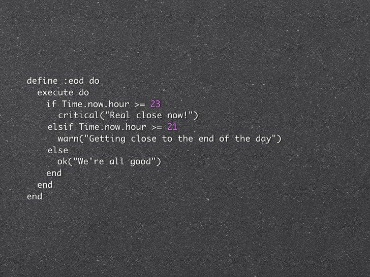 define :check_mysql_seconds_behind_master do  attribute :host,     :kind_of => String, :default => '127.0.0.1'  attribute ...