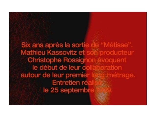 """• Filmé en 1993 (2 ans avant """"La Haine"""") • Tourné en 16 mm (budget limité, texture moins nette et effect plus réaliste, st..."""