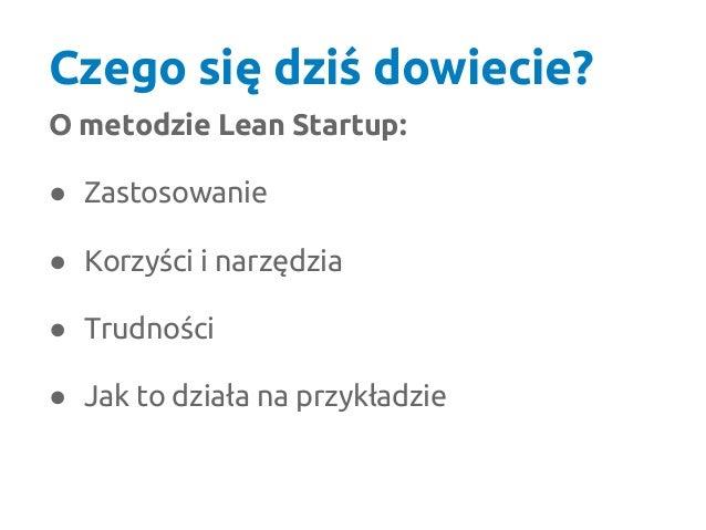 Czym jest Lean Startup? Slide 2