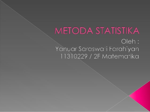 Buku Metode Statistika Sudjana Pdf
