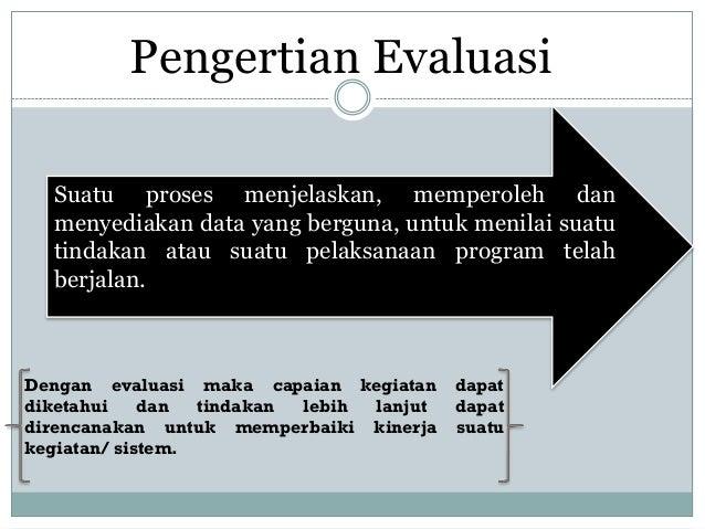 Metode Evaluasi Sistem Informasi Slide 2