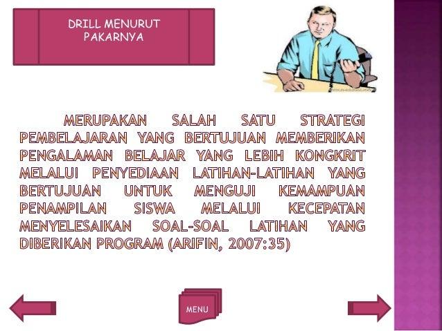 Metode Pembelajaran Drills And Practice