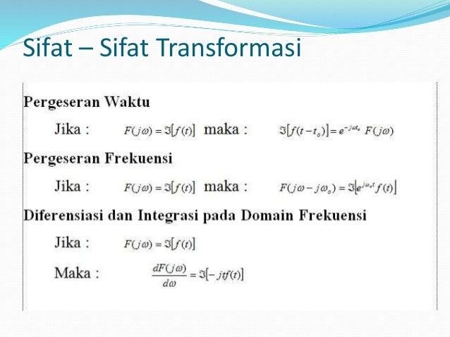 TRANSFORMASI FOURIER PDF DOWNLOAD