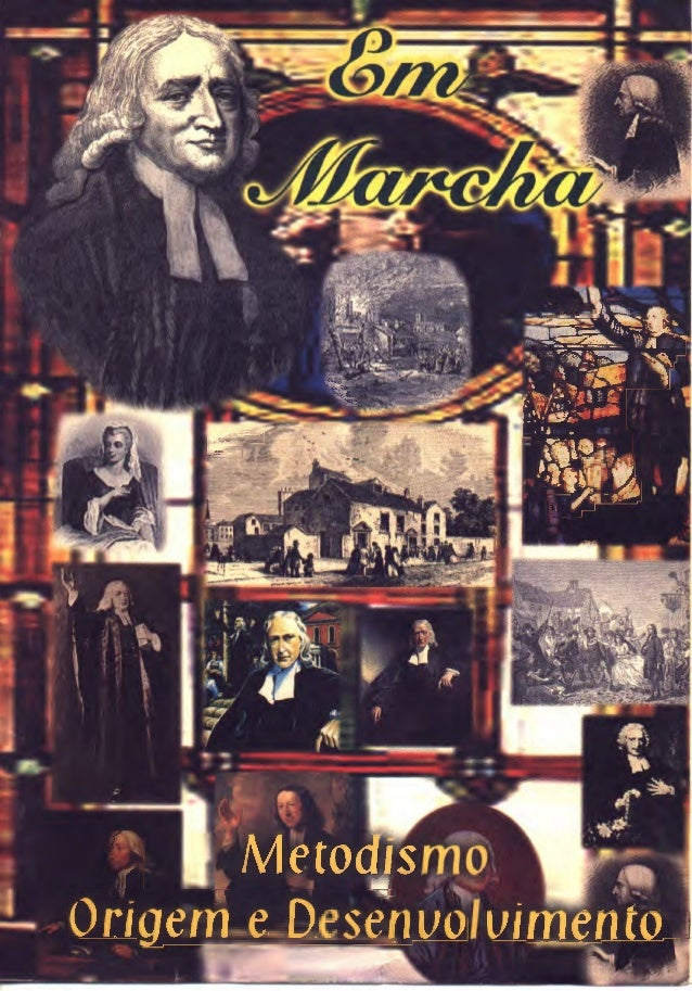 Metodismo   origem e desenvolvimento - revista em marcha 2º quadr 1999