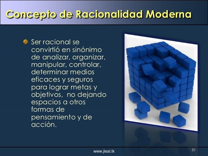 RACIONALIDAD MODERNA PDF