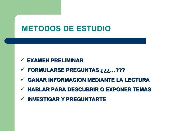 Metodo De Estudio Slide 3