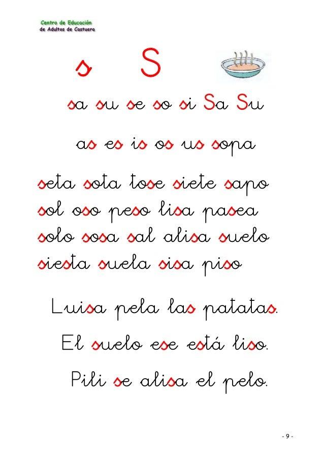 Metodo De Lectoescritura Lectura Y Frases