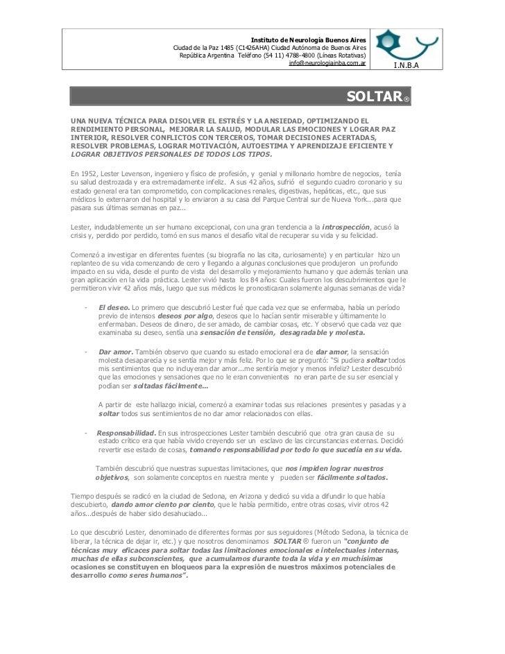 Instituto de Neurología Buenos Aires                                 Ciudad de la Paz 1485 (C1426AHA) Ciudad Autónoma de B...