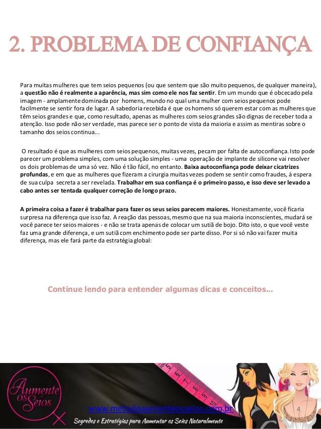 2f214e1b6 INTRODUÇÃO www.metodoaumenteosseios.com.br  4. Para muitas mulheres que tem  seios ...