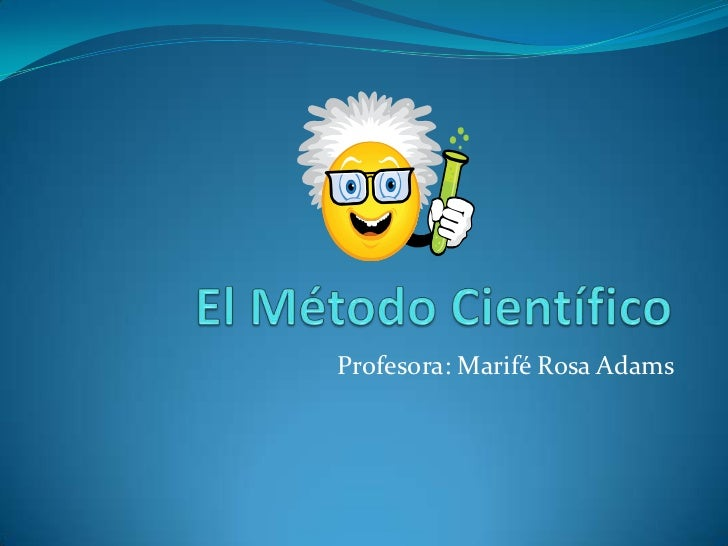 Profesora: Marifé Rosa Adams