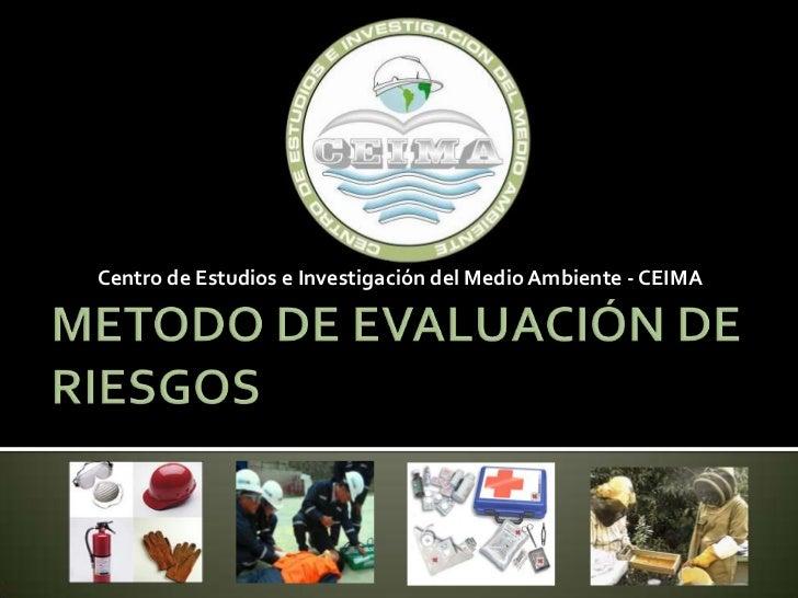 Centro de Estudios e Investigación del Medio Ambiente - CEIMA