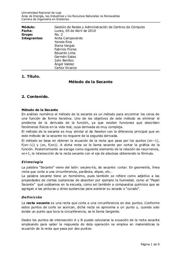 Universidad Nacional de LojaÁrea de Energía, las Industrias y los Recursos Naturales no RenovablesCarrera de Ingeniería en...