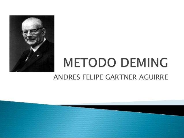 ANDRES FELIPE GARTNER AGUIRRE