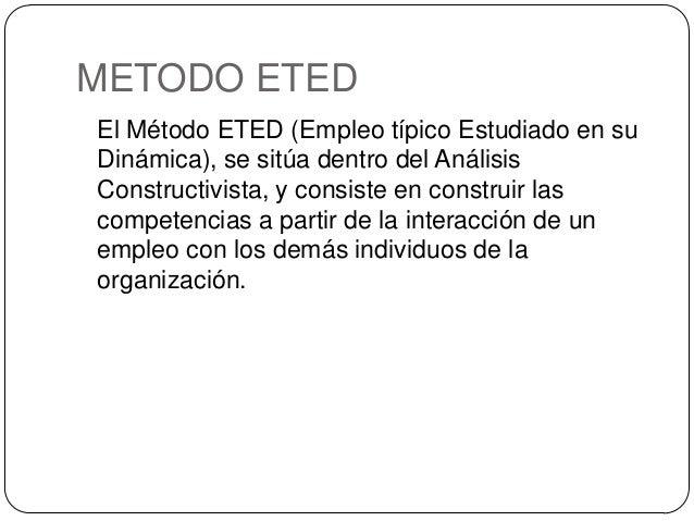 Metodo ETED aplicado a Salud Pública, por Santiago E. González j. Slide 2