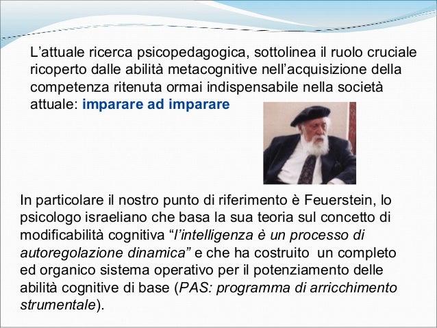 L'attuale ricerca psicopedagogica, sottolinea il ruolo cruciale ricoperto dalle abilità metacognitive nell'acquisizione de...
