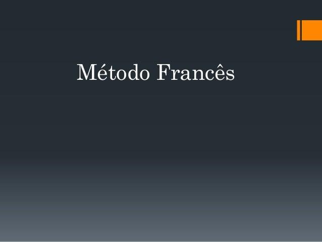 Método Francês