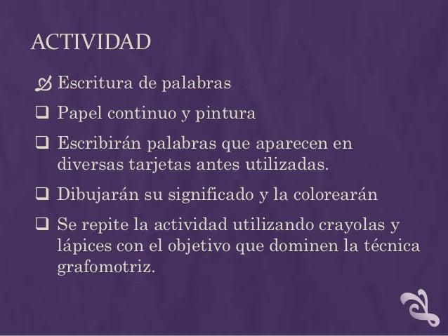 ACTIVIDAD  4) Frase  El rompecabezas empleado en la etapa de   comprensión se utilizara para que los niños   repasen con...