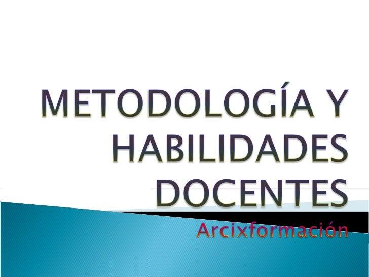 Metodología Slide 1