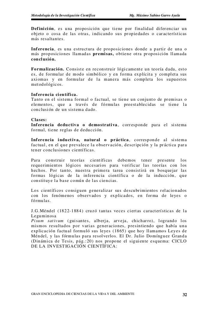 Metodología de la Investigación Científica          Mg. Máximo Sabino Garro Ayala   Definición, es una proposición que tie...
