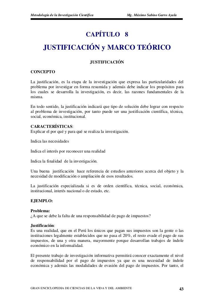 Metodología de la Investigación Científica               Mg. Máximo Sabino Garro Ayala                                    ...