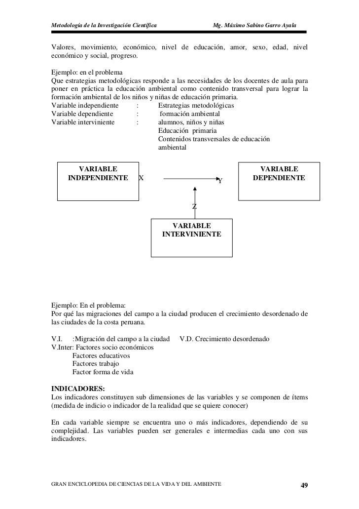 Metodología de la Investigación Científica                Mg. Máximo Sabino Garro Ayala   Valores, movimiento, económico, ...