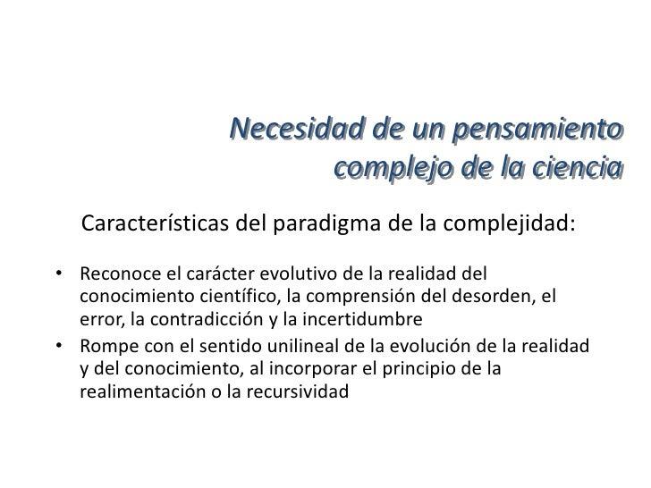 Interdisciplinariedad e         integración del conocimiento• Concordismo:  -Criterio orientado a identificar concordancia...