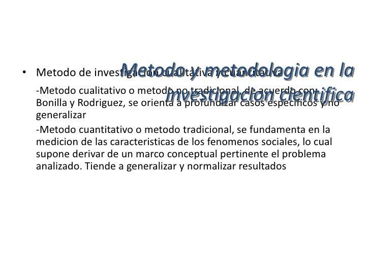 Metodo y metodologia en la                      investigacion cientifica• Investigacion accion participativa (IAP)  -Es un...