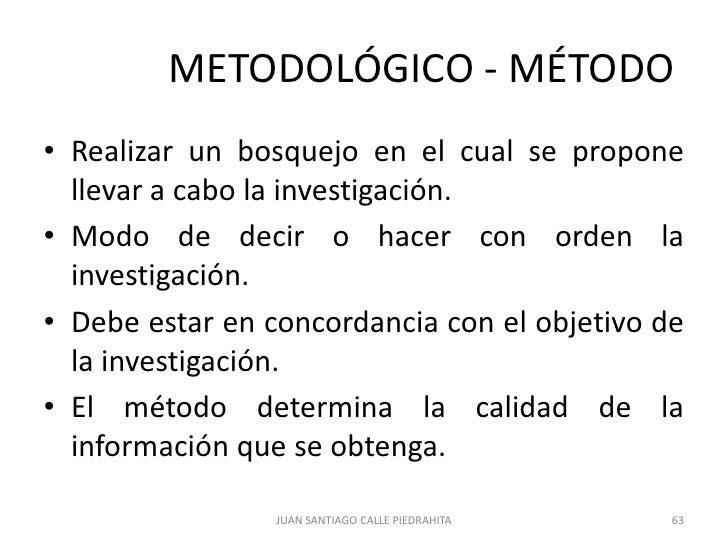 Metodología De La Investigación Proyecto De Grado