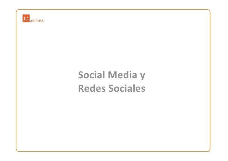 SocialMediay RedesSociales