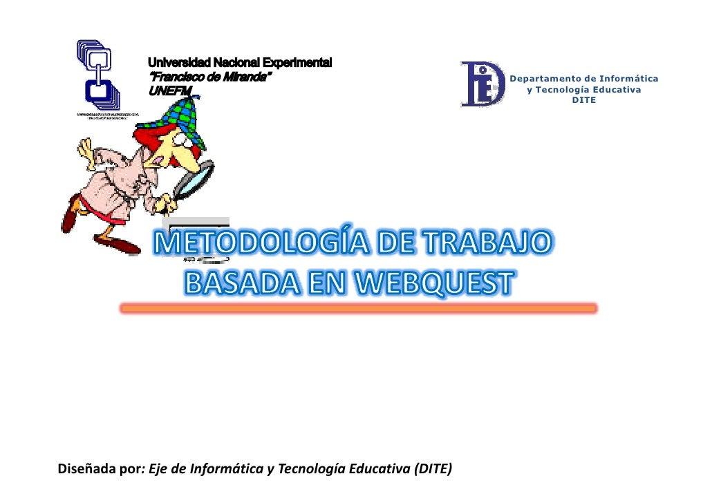 Departamento de Informática                                                                    y Tecnología Educativa     ...