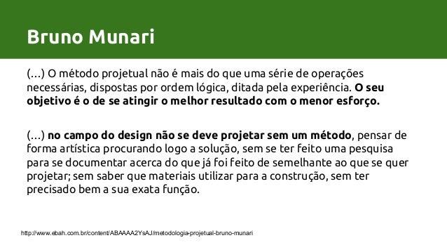 Processo de Design por Bruno MunariBruno Munari