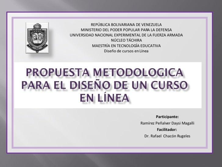 Participante: Ramírez Peñalver Daysi Magalli Facilitador:  Dr. Rafael  Chacón Rugeles REPÚBLICA BOLIVARIANA DE VENEZUELA M...