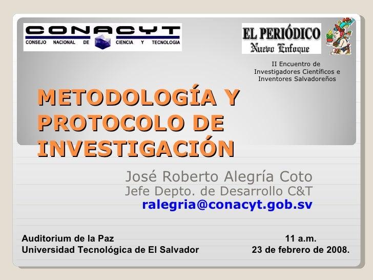 II Encuentro de                                         Investigadores Científicos e                                      ...