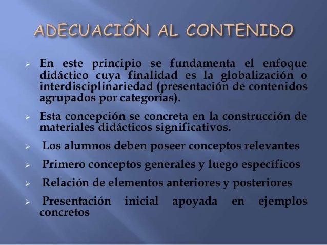 GlobalizaciónCarácter sincrético dela percepción infantilIntegrar los saberesculturales para facilitarlos aprendizajesPlan...