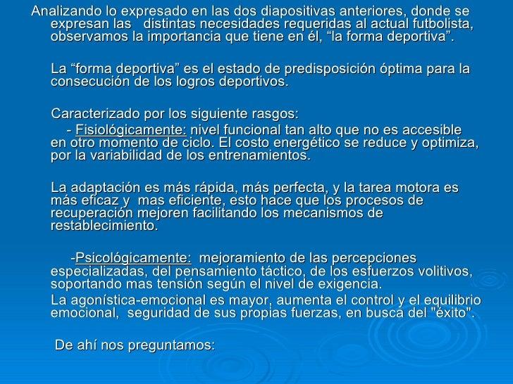 METODOLOGIA FUTBOL PROFESIONAL Slide 3