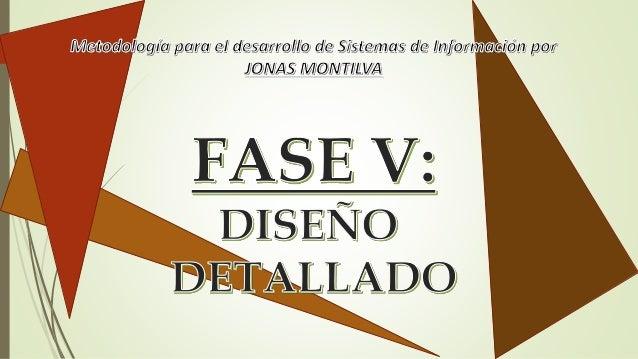 Metodología para Sistemas de Información(MEDSI) por Jonas Montilva
