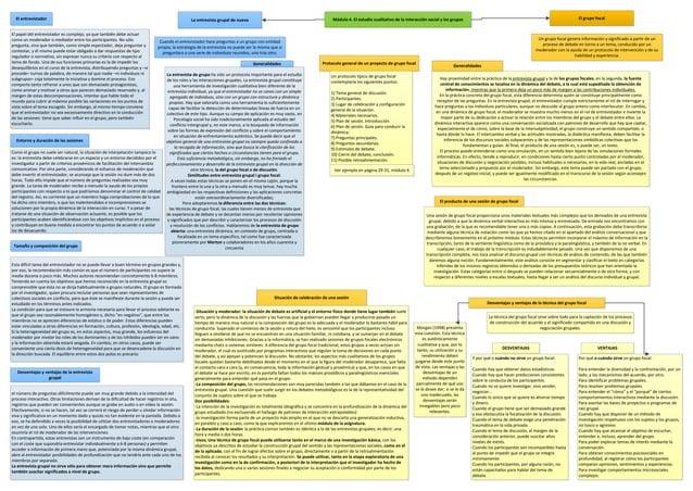 Metodologia qualitativa esquemes modul 3,4