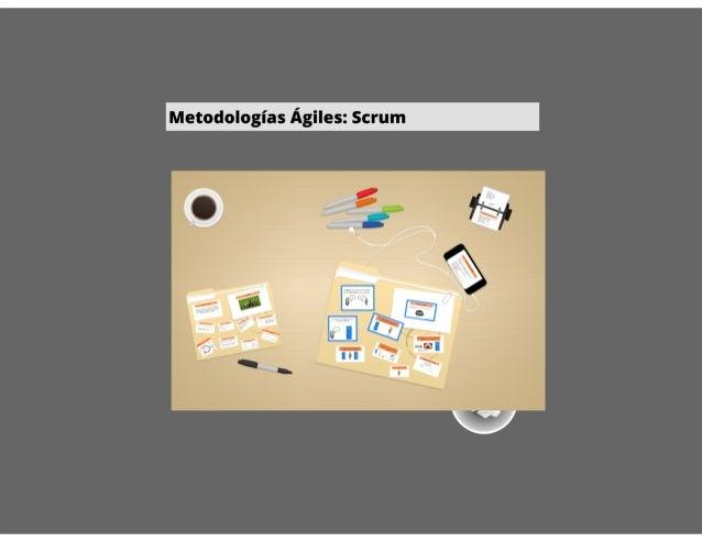 Metodologias agiles - SCRUM