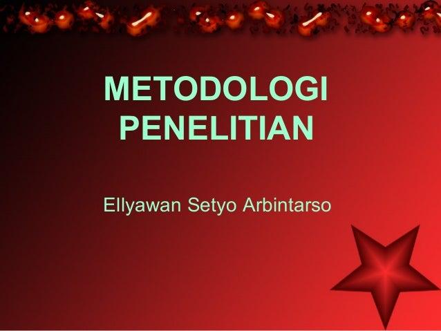 4. Metodologi penelitian. Ppt.