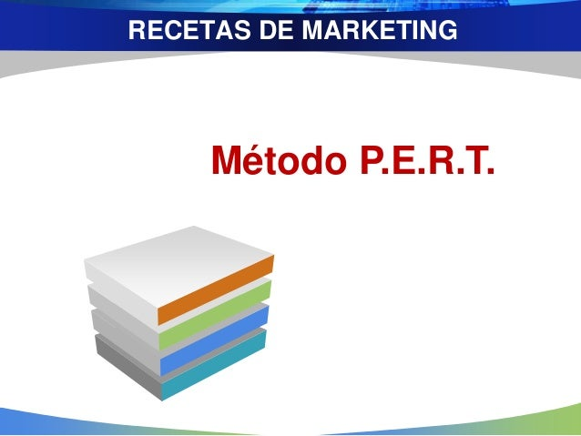 RECETAS DE MARKETING Método P.E.R.T.